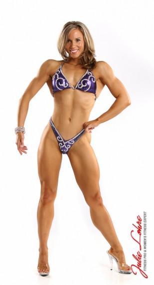 Bikini type Figure Front Pose Hyla Conrad