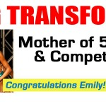Mother of 5 loses 70 lbs & competes in BIKINI 5 months post partum!