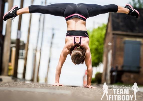 Madalyn Saunier Incoporating Gymnastics