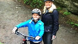 Julie & Tre Biking Switzerland