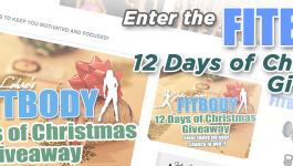 FITBODY 12 Days of Chrismas Giveaway