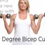45 Degree Bicep Curls